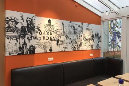 Boekhandel Van der Velde - Printwerk - Cafe/Tuin