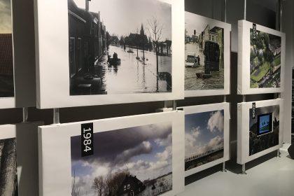 Afsluitdijk Wadden Center - Printwerk, Decoratie, Interactief