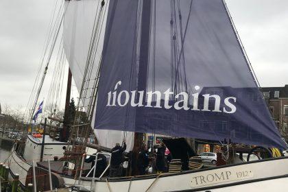 11Fountains - Inrichting 'De Tocht' aan boord van koftjalk De Tromp- Culturele Hoofdstad 2018