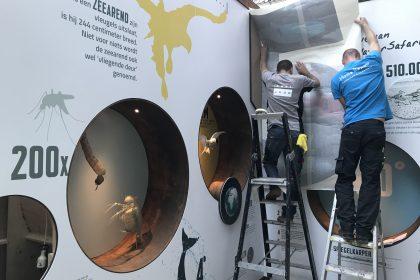 Natuurmuseum Fryslân - Ontwikkeling, Realisatie - Toegangspoort Onderwatersafari 2018