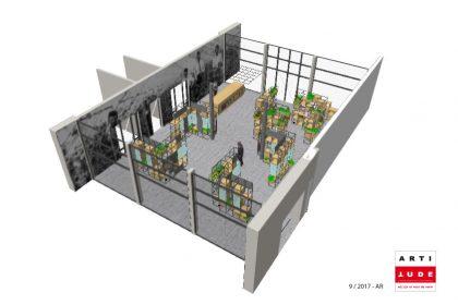 De Kruidhof hortus van Fryslân - Ontwerp, Uitvoer, Printwerk - Intereur Winkel/Ontvangstruimte