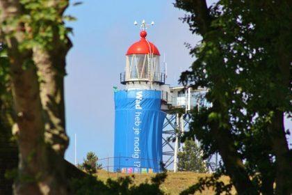 Beleef Fryslân/VVV waddeneilanden - Realisatie - Inpakken vuurtoren Vlieland