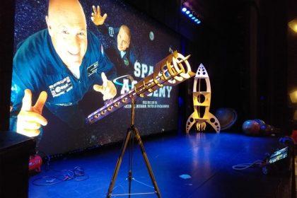 Space Academy Live - Decor stukken - Andre Kuipers/Sander Koenen