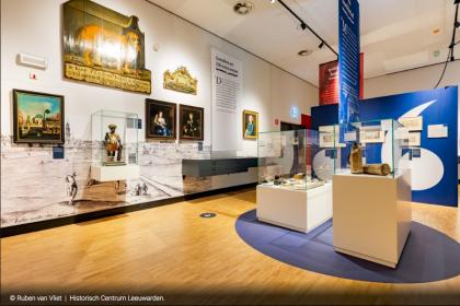 Verhalen van Leeuwarden en Prinsentuin 200 jaar stadspark van alle Leeuwarders - Producie en montage van Prints, Banieren, Wand- en Vloerstickers - Historisch Centrum Leeuwarden (foto's via Ruben van Vliet Fotografie en Karin Scholte)